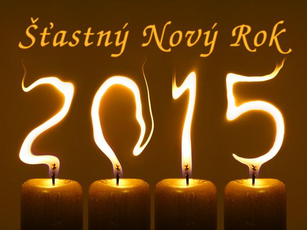 Šťastný a úspěšný rok 2015 :-)